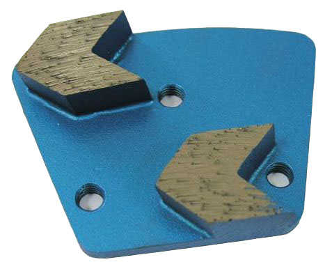 Arrow Shaped Diamond Grinding Plates